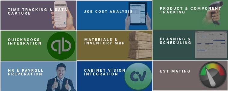 Tractivity Overview - Cabinet Shop Production & Job Cost Management Software